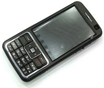 Chinese phone with 3 SIM card slots