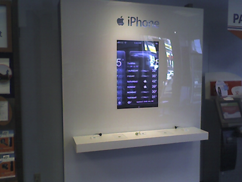 Apple iPhone kiosk spotted in Seattle AT&T store