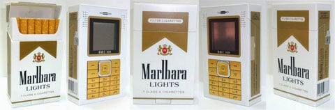 Marlbara tobacco addicts phone - pic 5