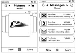 Microsoft applies for mobile interface patent - new windows mobile UI