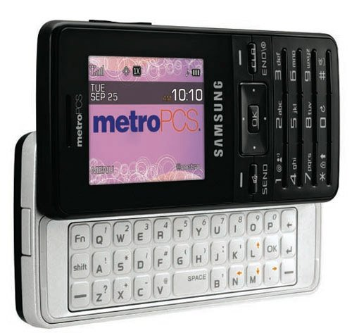 MetroPCS launches the Samsung R410 messaging phone