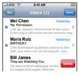 iPhone email to get mass delete feature with iPhone OS v1.2 or v2.0