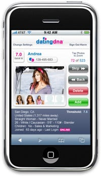 Dating DNA for iPhone
