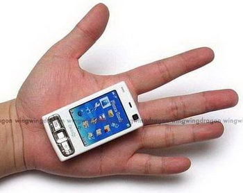 small fake Nokia N95