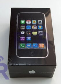 iPhone 3G unboxing - pictures and video