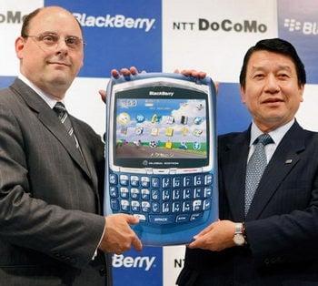 NTT DOCOMO to launch BlackBerry Internet Service on August 1st