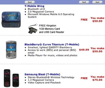 Deal: Wal-Mart sells T-Mobile phones for next to nothing