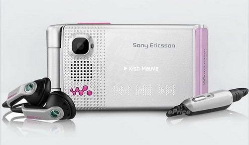 Sony Ericsson W380 - pink