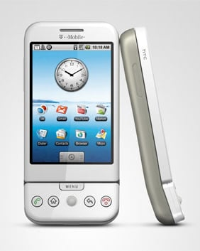 T-Mobile HTC G1 (Dream) specifications and features