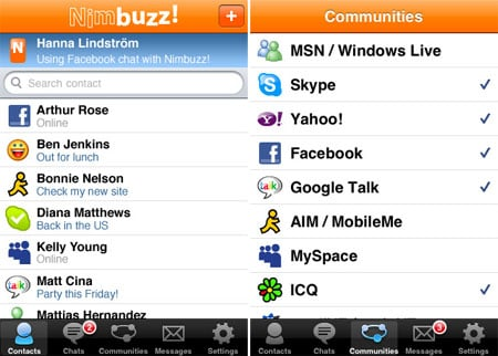 Nimbuzz Brings Its Voip Service To The Appstore
