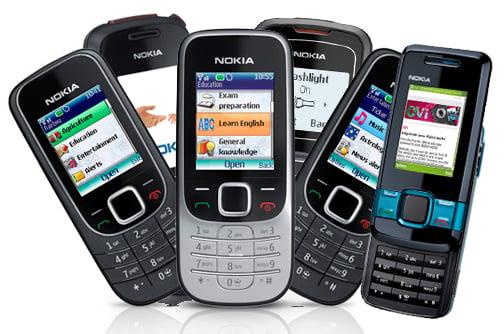 Nokia unloads seven new low-end handsets, plus services ...