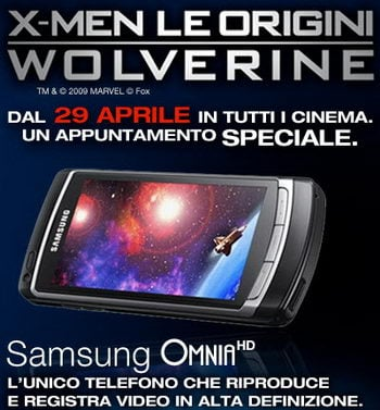 Samsung i8910 coming as the Omnia HD in Italy
