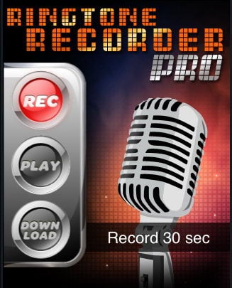 Ringtone Recorder Pro for the Apple iPhone