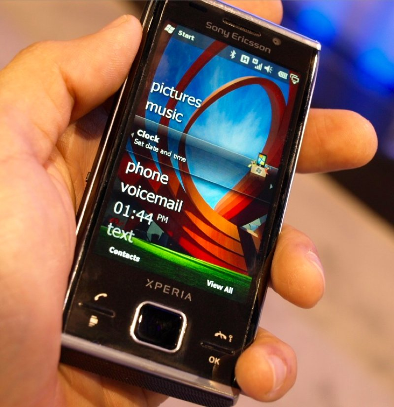 sony ericsson xperia x2a. sony ericsson xperia x2 hands