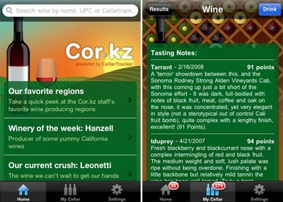 Cor.kz Wine Info - iPhone app