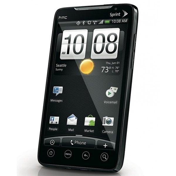 Sprint HTC EVO 4G front shot