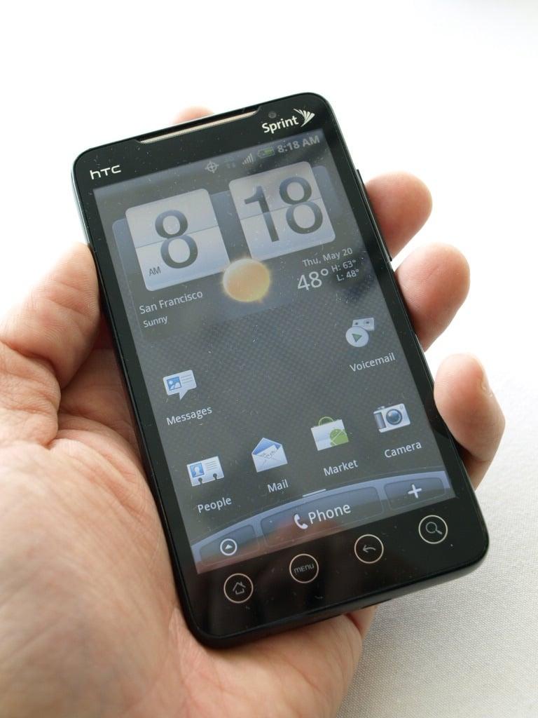Android 2.2 Sprint EVO 4G