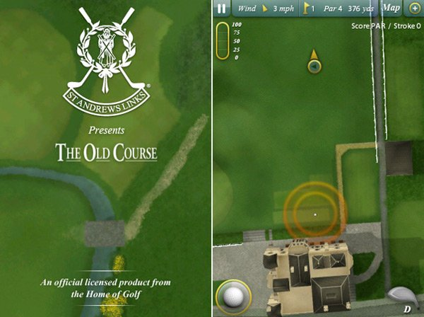 The Old Course for iPhone