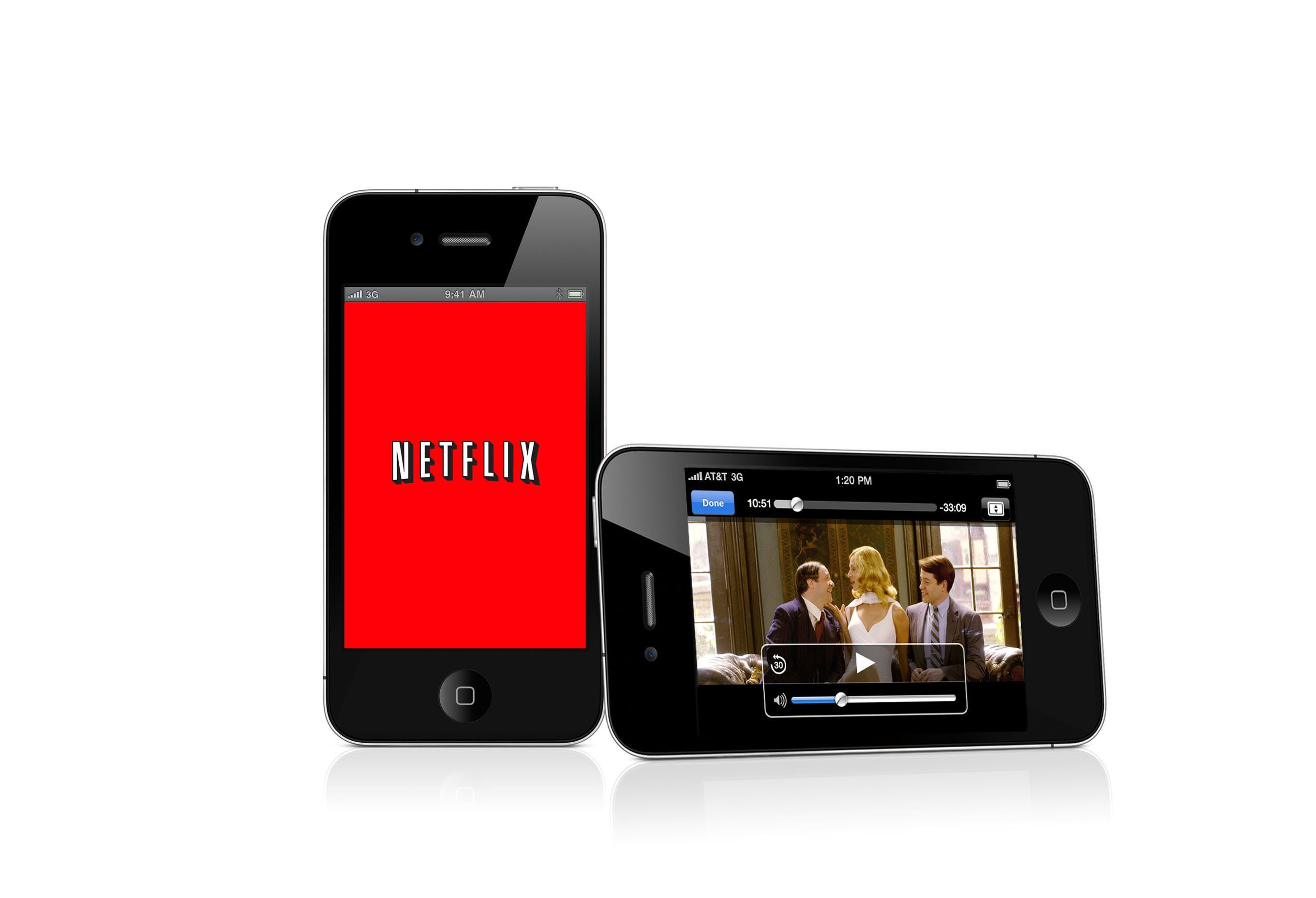 NETFLIX MOVIE ON APPLE IPHONE