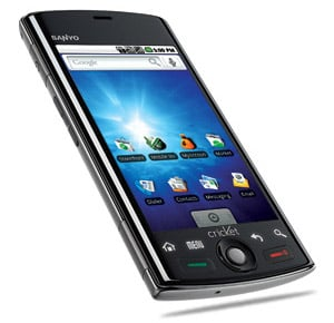 android powered sanyo zio by kyocera now available on cricket rh intomobile com Sanyo Smartphone Sanyo Smartphone