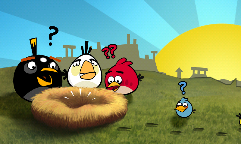 Angry Birds and Don Draper go together