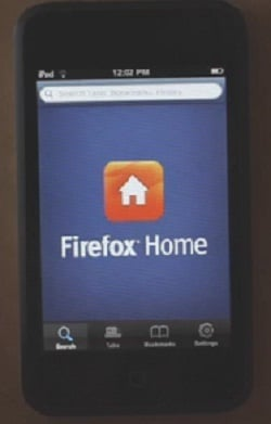Apple iPhone app Firefox Home gets an update