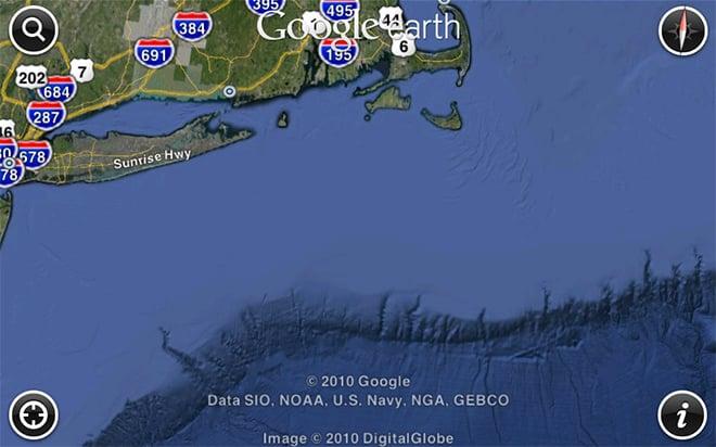 Google Earth with Ocean for iOS