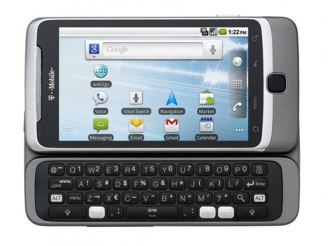 Android 2.2 with T-Mobile G2 debuts
