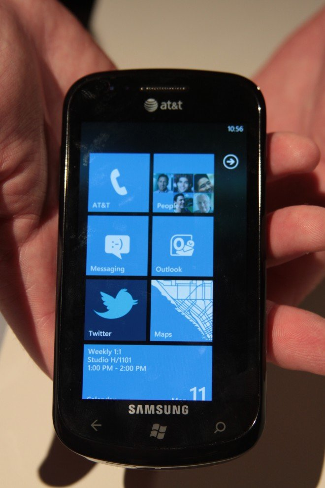 Windows Phone 7 is poised to debut as Microsoft has a strong quarter