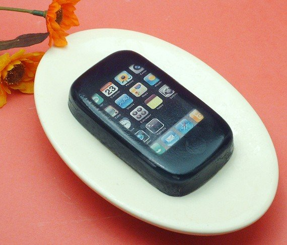 Grilled Sausage iPhone Soap