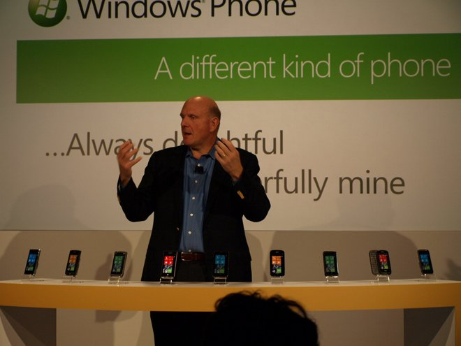 Windows Phone launch event