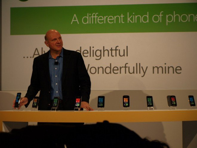 Windows Phone 7 handsets