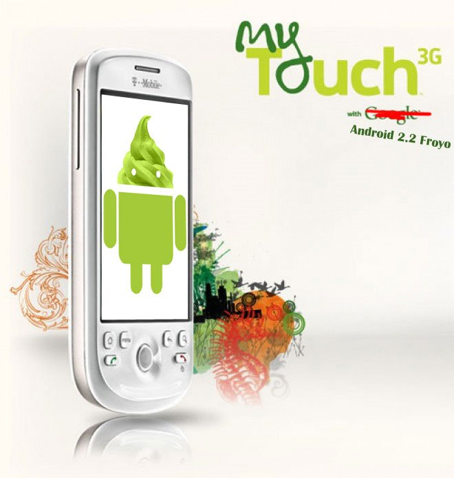 HTC Magic T-Mobile myTouch 3G Android 2.2 Froyo