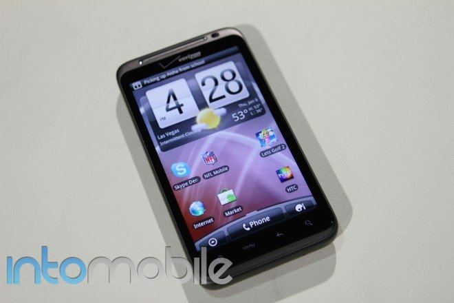 Hands-on with the Verizon HTC Thunderbolt Android phone with 4G LTE