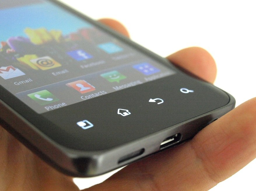 LG Optimus 2X Star Android phone with NVIDIA Tegra 2 dual-core processor.