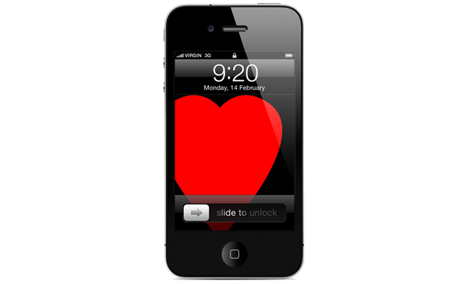heart iphone