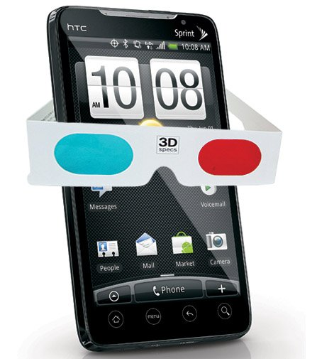 Upcoming HTC Evo 3D rocks!