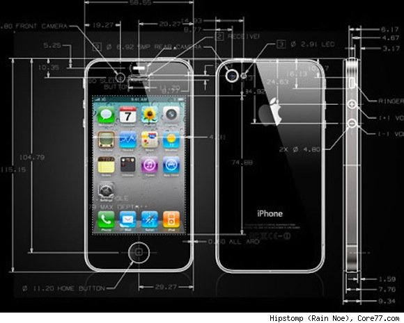 core77iphone4cad