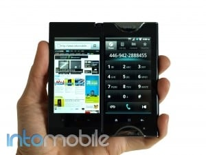 Review: Sprint Kyocera Echo with Android, two screens