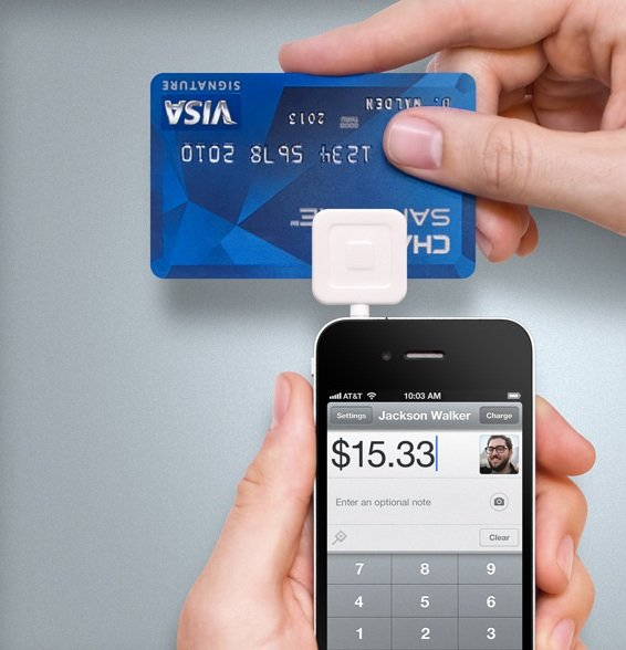 Credit Card Square For Iphone