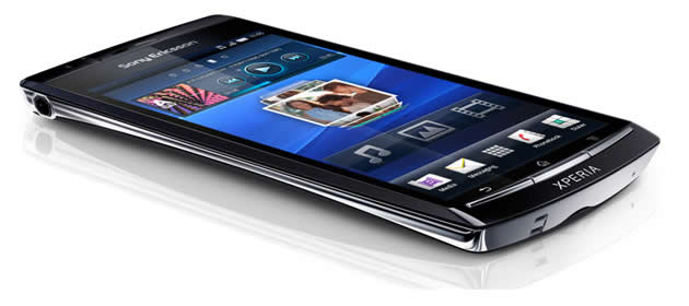 Sony Ericsson Xperia acro is version of the arc for Japan