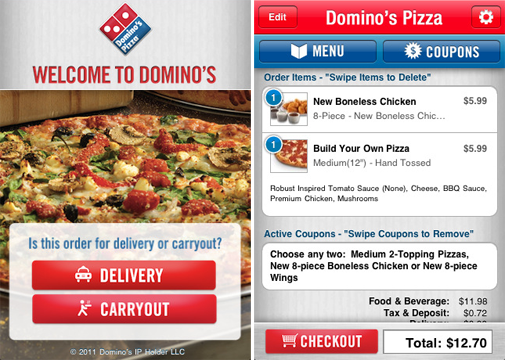 Domino's Pizza for iPhone