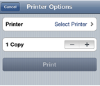 how to print from iphone - step 4