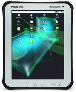 Panasonic unveils Android-powered Toughbook tablet