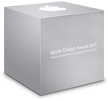 WWDC: 2011 Apple Design Award winners announced