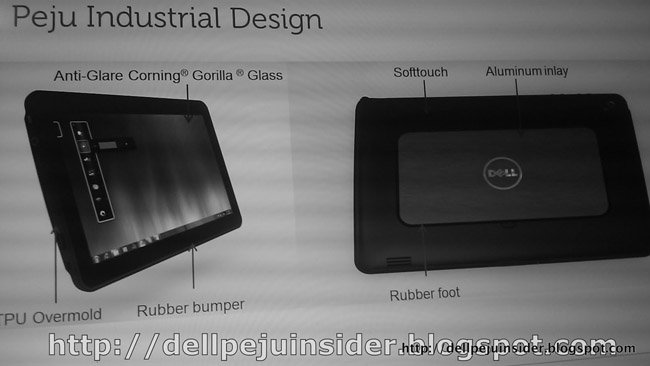 Dell Peju tablet to run Windows 7; Coming in October?