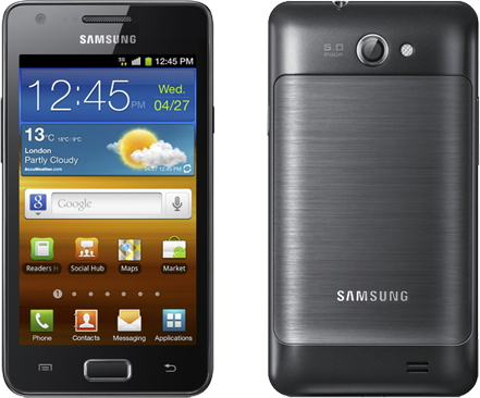 Samsung Galaxy R is Galaxy Z for those living outside of Sweden