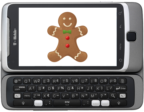T-Mobile G2 Gingerbread updates rolling out as we speak