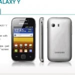 Samsung Galaxy Y heading to Vodafone UK