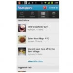 Android-foursquare-lists